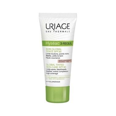 Uriage URIAGE Hyseac 3-Regul Soin Global SPF50 Teinte 40 ml Renksiz